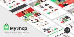 MyShop – multi layout fashion OpenCart theme