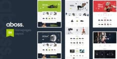 Aboss – Opencart 3 Theme for Sport Shop