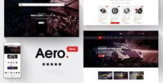 Aero – Car Accessories Responsive Opencart 3.x Theme