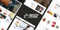 Begito – Bag Store Responsive Opencart 3.x Theme