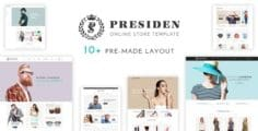 Presiden – Multistore Responsive Opencart Theme