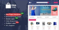 Fina – Responsive Multipurpose OpenCart 2.3 Theme