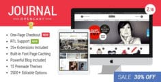 Journal — Advanced Opencart Theme v. 2.16.7
