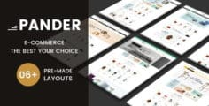 Pander – Furniture Responsive OpenCart Theme