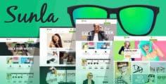 Sunla – Sunglasses Responsive Opencart Theme