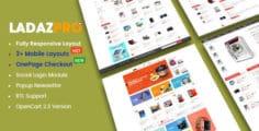 LadazPro – Advanced Multipurpose Responsive OpenCart 2.3 Theme