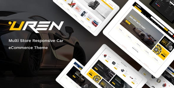 Uren - Car Accessories Opencart Theme