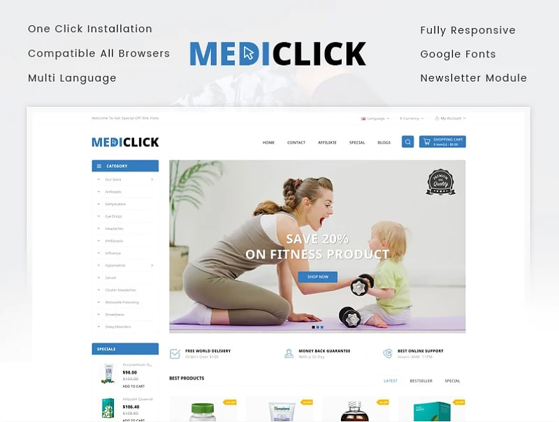 Medi Click - Drugs Store