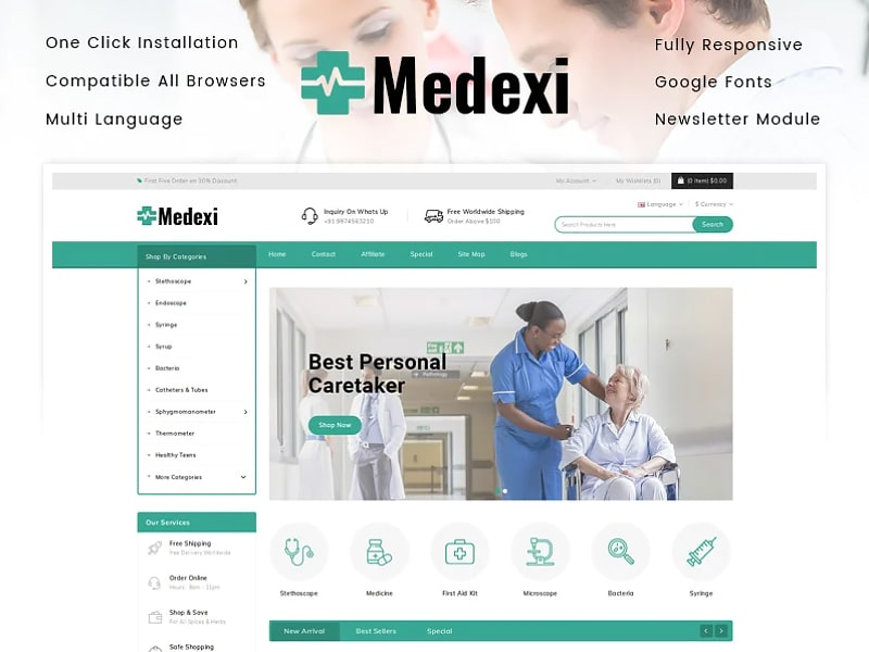 Medexi - Medical Store