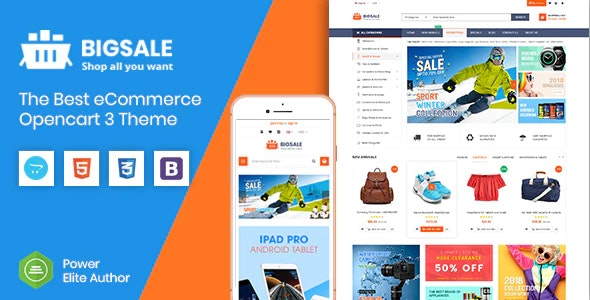 BigSale - The Multipurpose Responsive SuperMarket Opencart 3 Theme