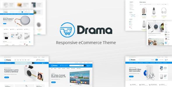 Drama - Responsive OpenCart Theme