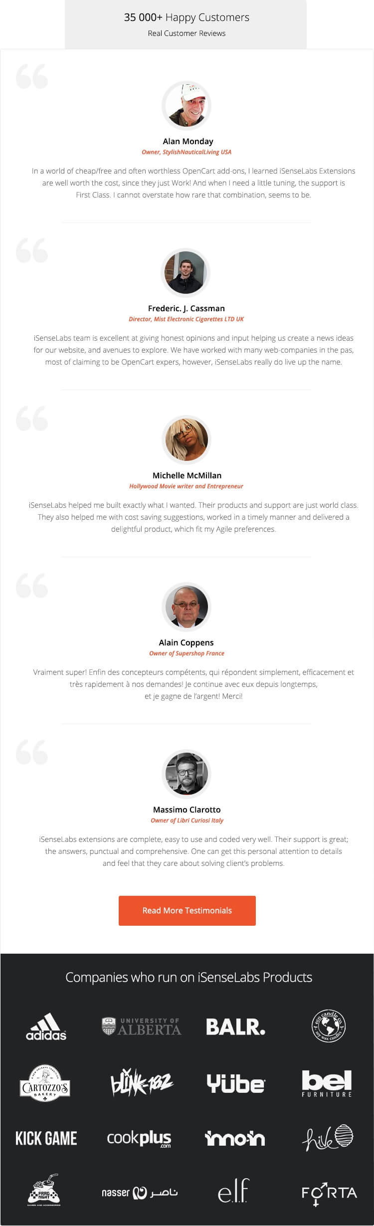 isenselabs-customer-testimonials