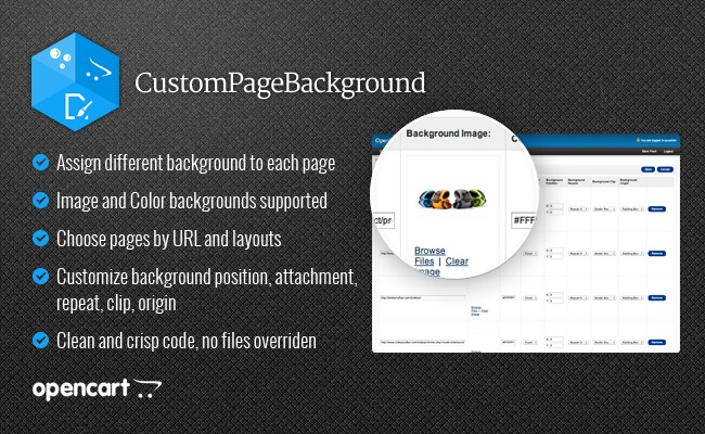 CustomPageBackground