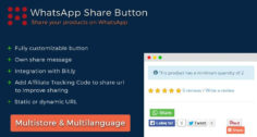 WhatsApp Share Button / Кнопка Поделится в WhatsApp