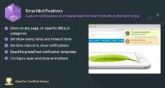SmartNotifications – Motivate customers to buy