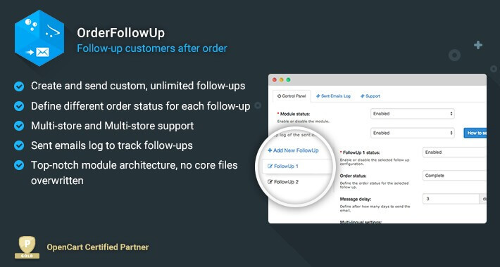 OrderFollowUp - Follow Up After Order