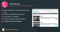 VideoPublisher – Multipurpose Video News / Reviews publisher