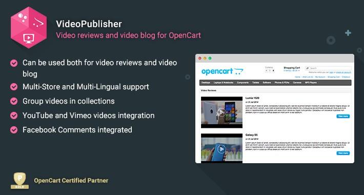 VideoPublisher - Multipurpose Video News / Reviews publisher