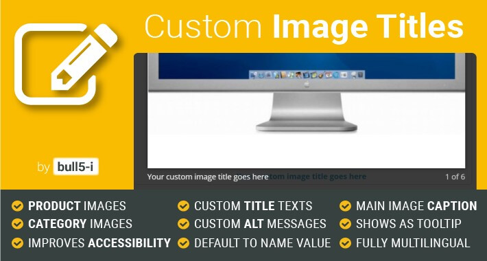 Custom Image Titles